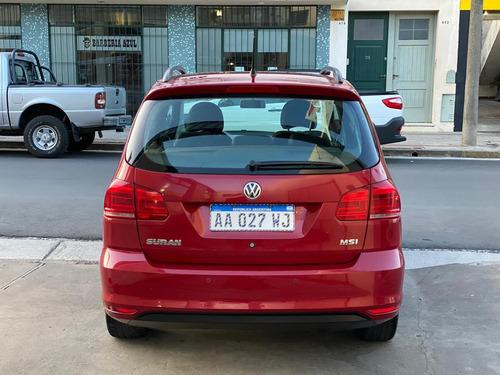 volkswagen suran trendline 1.6 + gnc 5ta nuevo