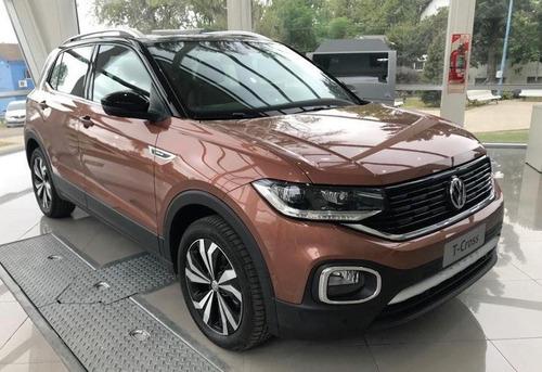 volkswagen t-cross  0km $300.000 o tu usado + cuotas e