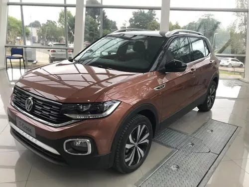 volkswagen t-cross 1.6 highline at 6