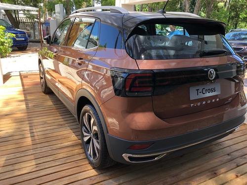volkswagen t-cross 1.6 highline automatica 2020 0km vw gris