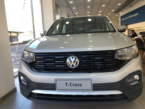 volkswagen t-cross 1.6 trendline tcross 2020 vw 0km bordo