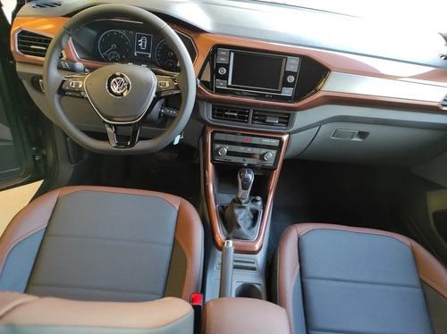 volkswagen t-cross comfortline aut 2021 financias tasa0% 22