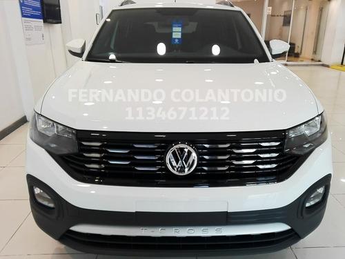 volkswagen tcross comfortline 0km automática 2020 nuevo vw