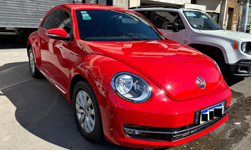 volkswagen the beetle 1.4 tsi design dsg rojo!!