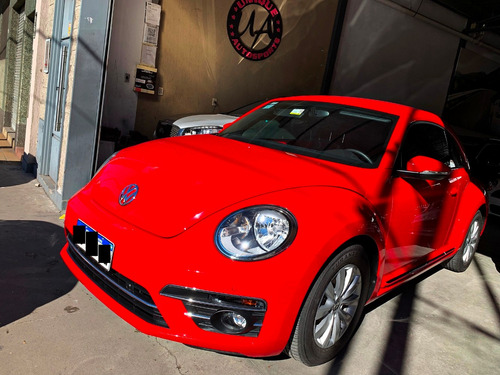 volkswagen the beetle 1.4 tsi design dsg rojo