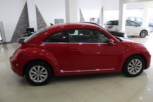 volkswagen the beetle design 2015 rojo 87000km impecable