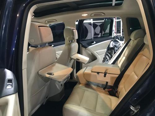 volkswagen tiguan 2.0 exclusive tiptronic 2012 azul ljz