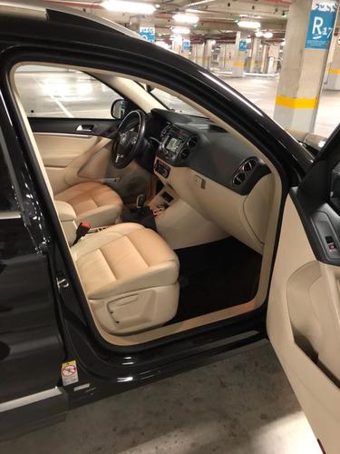 volkswagen tiguan 2.0 fsi 5p, impecável, revisada, blindada!