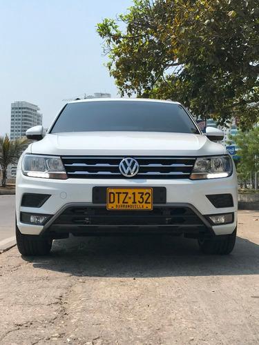 volkswagen tiguan 2.0  trendline 7 pasajeros 4motion