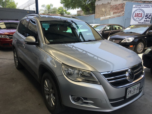 volkswagen tiguan 2010 track and fun 4motion