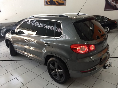 volkswagen tiguan kit r-line 2011 cinza autom couro completa