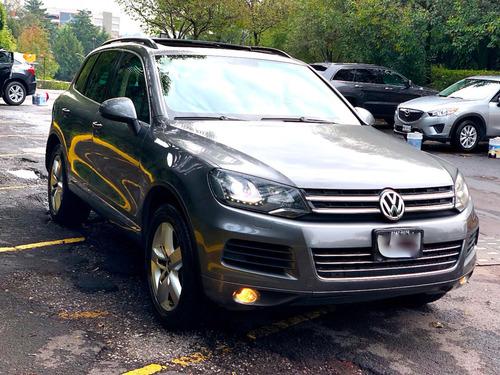volkswagen touareg 2013 v8  paq multimedia