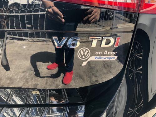 volkswagen touareg 3.0 v6 t diesel boton encendido at negro
