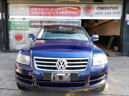 volkswagen touareg 4.2 v8 2006 rpm moviles