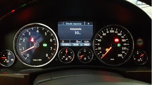 volkswagen touareg 4.2 v8 premium 2008 impecable gris