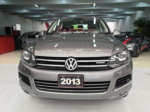 volkswagen touareg hibrida 2013 gris