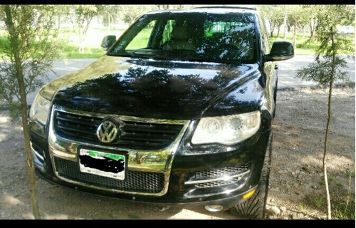 volkswagen touareg premium v6 piel 2008
