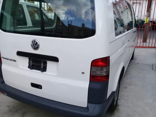 volkswagen transporter 2.0 8 pasajeros 2012