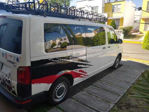 volkswagen transporter 2.0 pasajeros mt 140 hp 2017