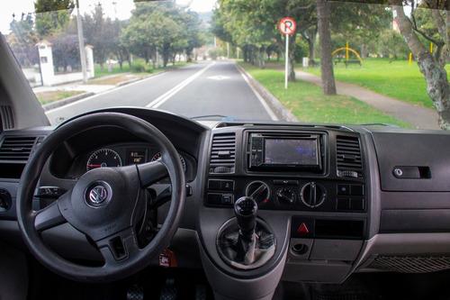 volkswagen transporter 2012. pasajeros. motor 1.968