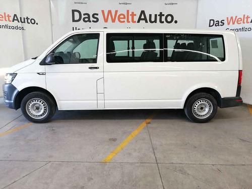 volkswagen transporter 2019 4 pts. pasajeros 8 asientos man