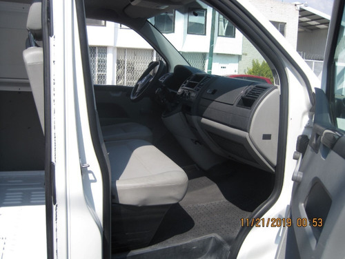 volkswagen transporter, cargo van/chasis cabina, modelo 2015