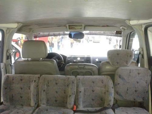 volkswagen transporter t5 16 pasajeros blanca 5 puertas