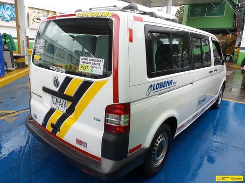 volkswagen transporter t5 16 pasajeros full equipo