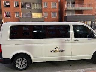 volkswagen transporter t6 pasajeros