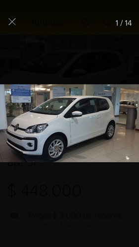 volkswagen up! 1.0 high up! 5 p 2018