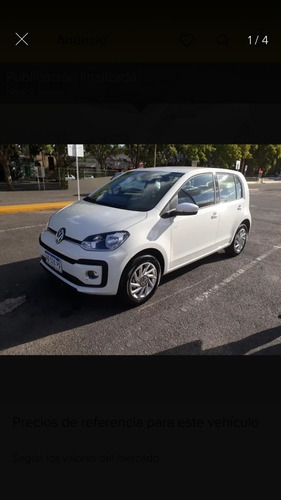 volkswagen up! 1.0 high up! 5 p 2019