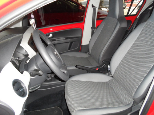 volkswagen up! 1.0 tsi move 2016 vermelha