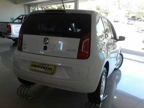 volkswagen up black/white/red total flex 1.0 5p