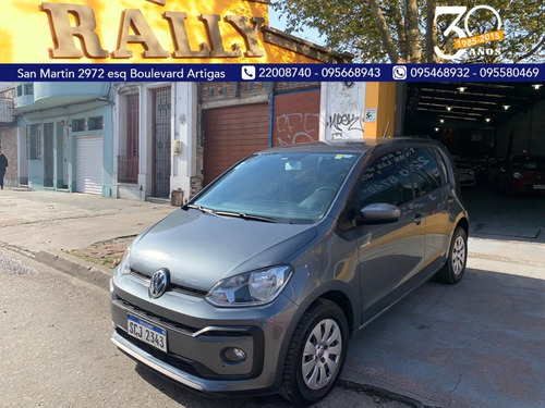 volkswagen up move 2018 único dueño financiamos 100%