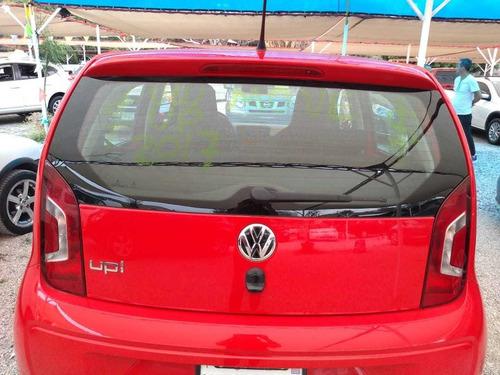 volkswagen up move motor 1.0 2007 rojo 5 puertas