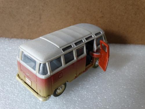 volkswagen van samba - maisto - 1:40 - loose