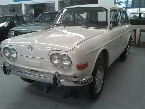 volkswagen variant 1970 zero km. museu ou coleção