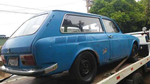 volkswagen variant 1974 p/ restaurar com documento e mecanic