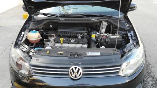 volkswagen vento 1.6 active mt 2014 negro standar