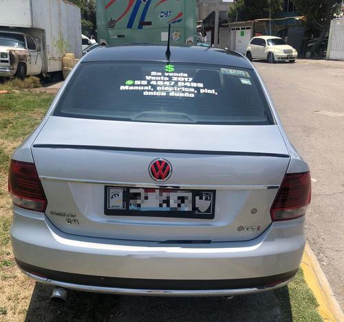 volkswagen vento 1.6 confortline mt 2017