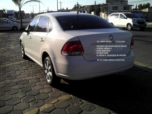volkswagen vento 1.6 tela standar 2014 enganche de **$29,800