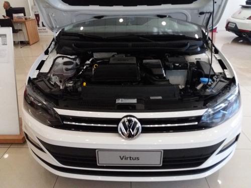 volkswagen virtus 1.6 comfortline automatico  2020 jf #a1