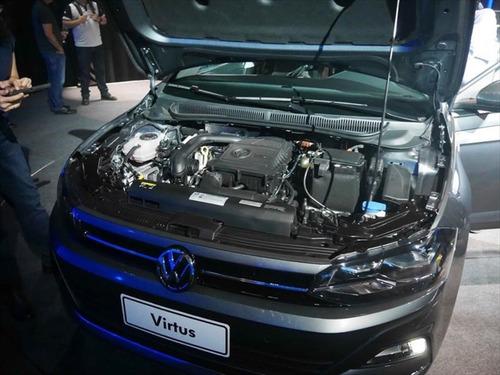 volkswagen virtus 1.6 highline automatico my18 #at3