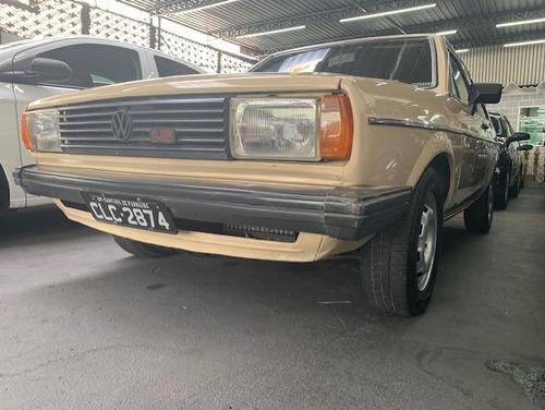 volkswagen voyage ls 1984 placa preta
