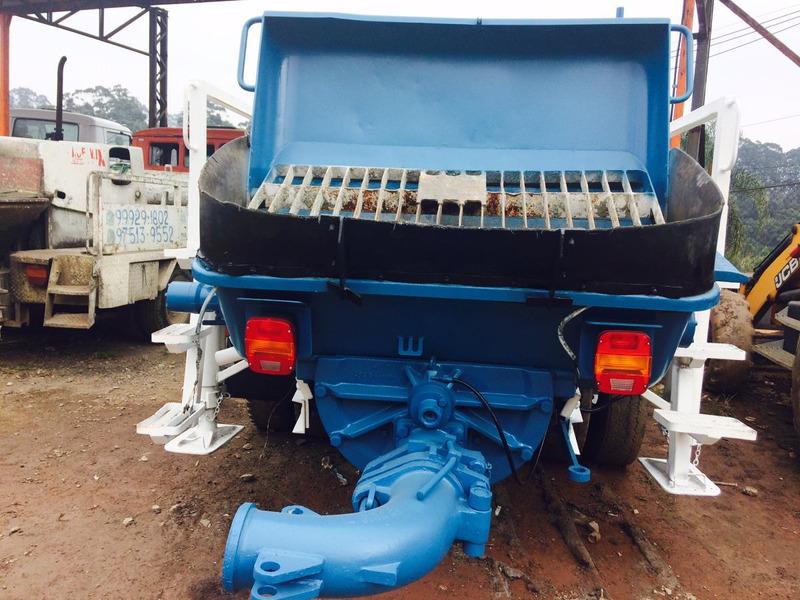 volkswagen vw 13180 bomba de concreto p2000 schwing ano 2005