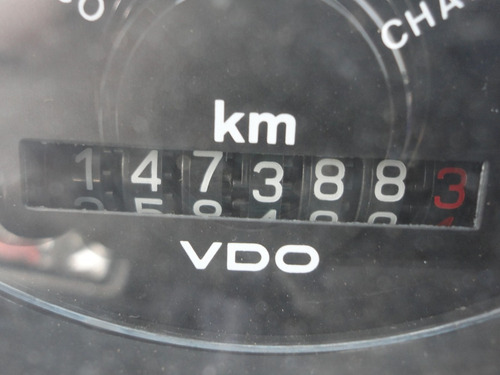 volkswagen vw 14210 - c/fechada - branca - ano 1989