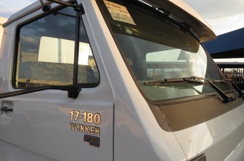 volkswagen vw 17180 truck reduzido basculante agrícola