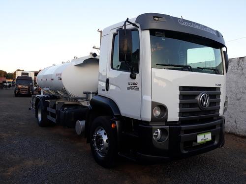 volkswagen - vw 17.280 - 4x2 - 2015 - pipa 8.000 ltrs