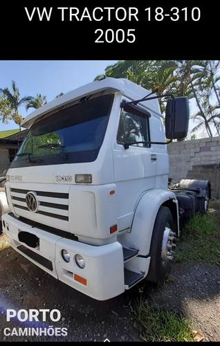 volkswagen vw 18310 4x2 2005 unico dono