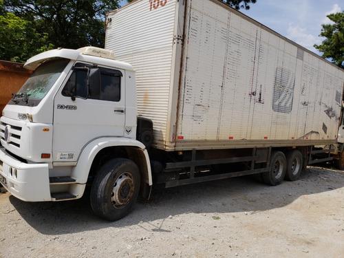 volkswagen vw 23250  e  2004/2005  truck com bau 8,5 mtos